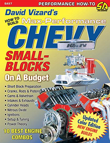 David Vizard's How to Build Max Performance Chevy Small Blocks on a Budget (Performance How-To) (English Edition)