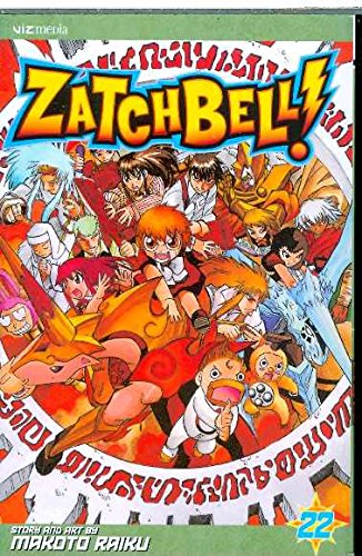 ZATCH BELL GN VOL 22 (C: 1-0-0) (Zatch Bell (Graphic Novels), Band 22)
