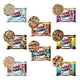 Madness Nutrition Protein Cookie Madness Eiweiss Keks MIX BOX, 8 x 106g (16 x 53g), Mindestens 5 verschieden Sorten, mit Kokosöl & Bio-Honig, saftig und lecker, mit 15-18g Protein