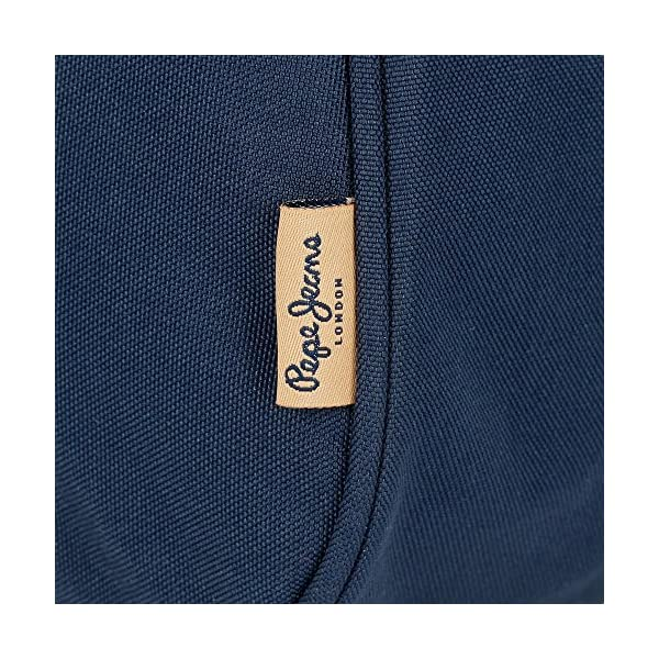Pepe Jeans Scarf Blue Carry All Three Compartments
