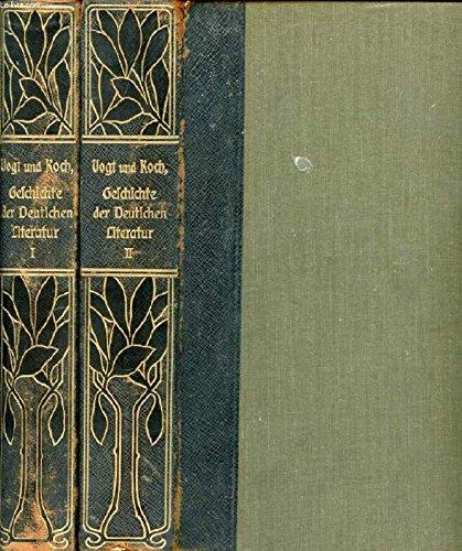 Geschichte der Deutschen Literatur von den ältesten Zeiten bis zur Gegenwart