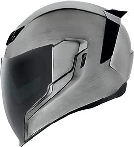 Icon Motorcycle Airflite Helmet Quicksilver 2018 M Sport Freizeit