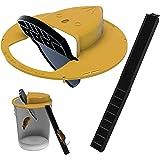 Flip N Slide Bucket Lid Mouse Rat Trap Multi Catch, avec Couvercle de Seau à Souris Compatible, piège à Rat Souris, Balance M