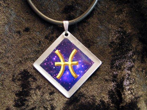 'Collana con segno zodiacale simbolo di Bold pesci