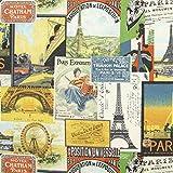 Fabulous Fabrics Exposition Paris — Meterware ab 0,5m — zum Nähen von Kissen und Tagesdecken, Tischdekorationen und Vorhängen