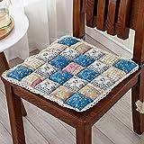 Winter chair mat Stoff sitzkissen Car seat dämpfung Dining stuhl kissen-S 50x50cm(20x20inch)