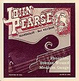John Pearse 2150M Jeu de cordes pour Mandoline Medium Naturel
