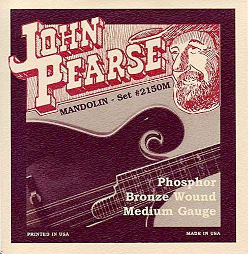 Produktbild John Pearse 2150M mandoline Saiten Medium