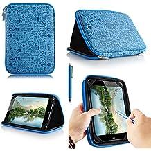 Casezilla A207inch Mid Apad Epad Netbook Tablet Universal EVA Hard Shell Folio Funda para Tablet, Cute Blue, Alcatel PIXI 7 3G