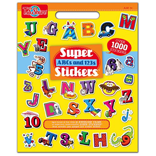 T.S. Shure ABC and 123 Super Sticker Book by T.S. (Abc Sticker Book)