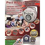 Pest Reject Pro Insecto Conector Impuls Amplificador...