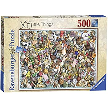Ravensburger Jigsaw Puzzle 500 Piece Canalway Cavalcade NEW SEALED