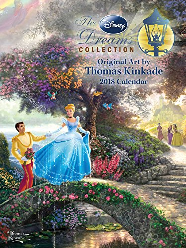 Thomas Kinkade: The Disney Dreams Collection 2018 Diary (The Disney Dream Collection)