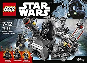 "LEGO UK 75183 ""Darth Vader Transformation"" Construction Toy by LEGO"