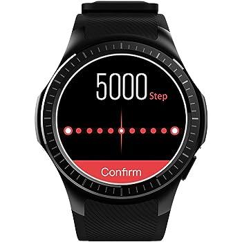 Kivors Reloj Inteligente L1 Bluetooth Smartwatch 1.3 Pulgadas Redondo HD IPS Pantalla Soporte SIM/TF