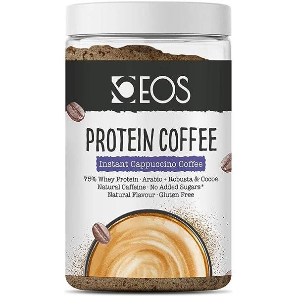 EOS - Café Proteico Cappuccino 150 g - Café con Proteína Whey ...