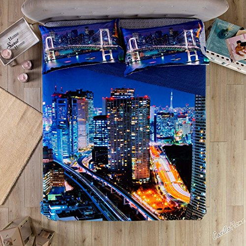 Cama Colcha High Skyline Lights