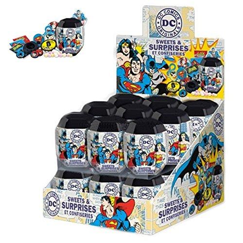 Caja de 18 x DC Comics Sorpresa de Huevos. (Batman, Mujer...