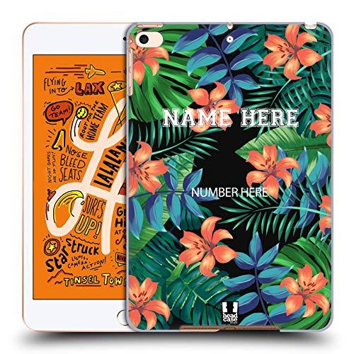 Head Case Designs Personalisierte Individuelle Anlass Cases Tropisches Jersey Harte Rueckseiten Huelle kompatibel mit iPad Mini (2019) Mini-print-jersey