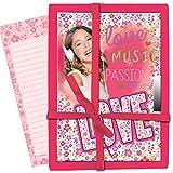 Diario segreto Violetta con lucchetto - Love confezione regalo
