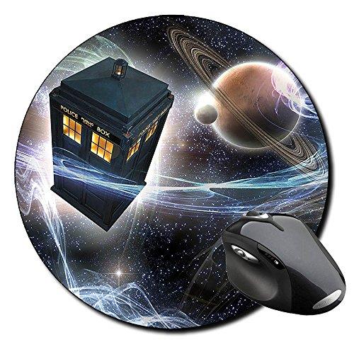 Preisvergleich Produktbild Doctor Who Tardis B Runde Mauspad Round Mousepad PC