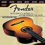 Juego 6 Cuerdas para Guitarra Acustica Española Clasica De Nylon Fender Guitar