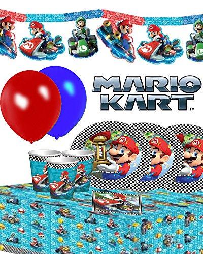 Preisvergleich Produktbild Nintendo Super Mario Birthday Party-Set für 16