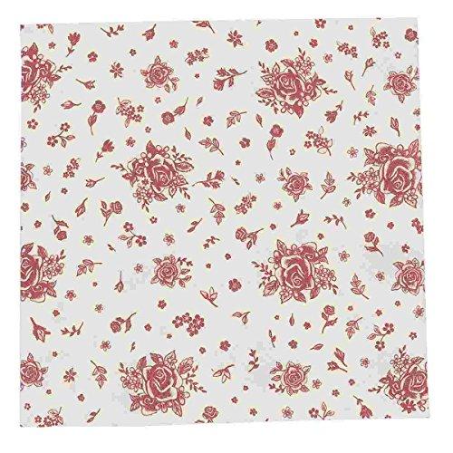 FAO73R Clayre & Eef - 20 tovaglioli di carta - Rosso ca. 33 x 33 cm