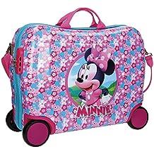 Disney Minnie Pink Equipaje Infantil, 50 cm, 34 Litros, Rosa