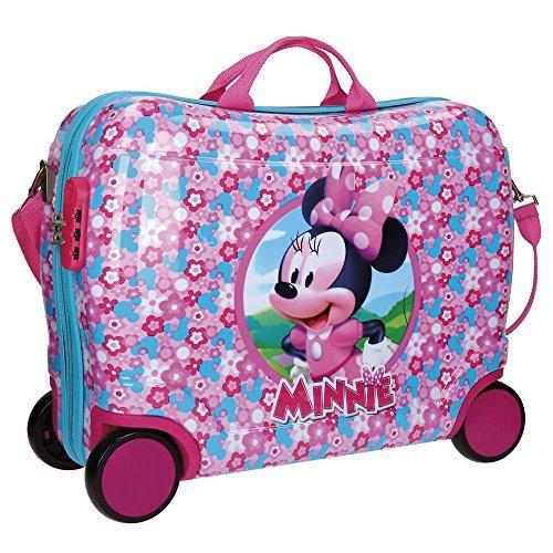 Disney Minnie Pink Valigia per bambini, 50 cm, 34...