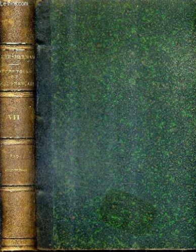 REPERTOIRE GENERAL ALPHABETIQUE DU DROIT FRANCAIS - TOME 7 : BAC BIBLIOTHEQUES.