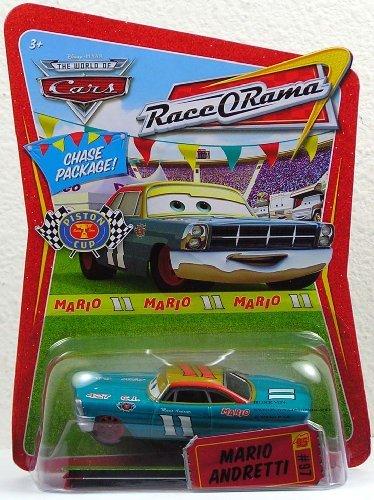 Disney Pixar Cars RaceRama Mario Andretti CHASE Package by Disney