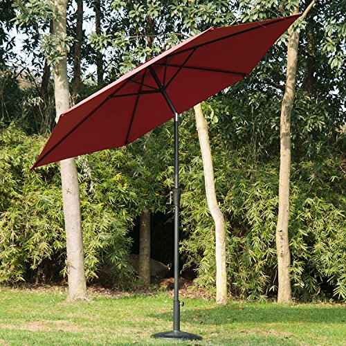 outsunny-27m-patio-garden-umbrella-outdoor-parasol-with-crank-and-38mm-aluminum-tilt-pole-wine-red