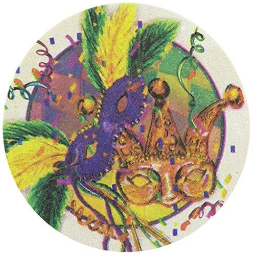Thirstystone Steingut Mardi Gras Masken Untersetzer, ()