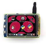 "SB Components Raspberry Pi LCD Display Module 3.2"" LCD (B) (320x240), Resistive Touch Screen TFT LCD"