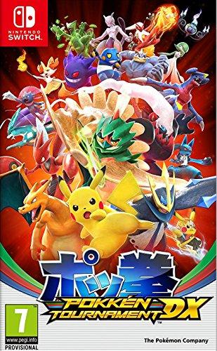Pokémon debutará este año en Nintendo Switch con la llegada de Pokkén Tournament DX. Este nuevo título incluye todo el contenido de las versiones para recreativas y Wii U de Pokkén Tournament y añade diversas novedades para crear la experiencia Pokké...