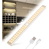 Luce Armadio Tanbaby Led Guardaroba con Sensore di Movimento con USB Ricaricabile 40 LED Luci Camera da Letto con…