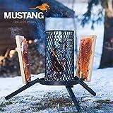 Grillpaul | Mustang Flammlachs Grill | Feuerkorb | Lachsgrill | Lachsbretter | Finnland
