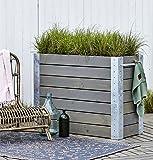 Woodinis Cubic Blumenkasten Hochbeet BIG 120x50x95 cm auch rollbar 4 Räder - Woodinis-Spielplatz®