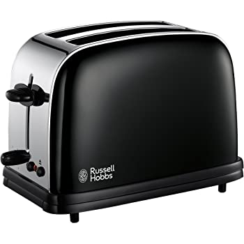 Russell Hobbs Colour 2-Slice Toaster 14361 - Black