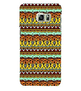 ColourCraft Tribal Pattern Back Case Cover for SAMSUNG GALAXY S6 EDGE PLUS