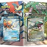 "Pokemon pok80168""TCG Battle Arena Cubierta Rayquaza vs Keldeo"" Juego de cartas"