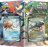 Pokémon Deck JCC pok80168Bataille Arena Rayquaza VS keldeo Jeu de Cartes