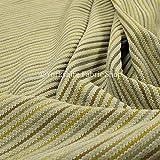 New Furnishing Fabrics Weicher Chenille-Polsterstoff, strukturiert, wie Cord, Gelb, Chenille, gelb, 1 m