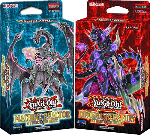 Yugioh! - Machina Reactor & Dinosmasher`s Fury - Structure Deck - Deutsch (1 Set) - Structure Yugioh Deck Machina