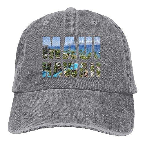 VTXINS Maui Hawaiian Denim Hat Adjustable Women Surf Baseball Hat