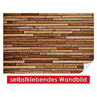 XXL-Tapeten selbstklebendes Wandbild Wood Panel – leicht zu verkleben – Wallprint, Wallpaper, Poster, Vinylfolie mit Punktkleber für Wände, Türen, Möbel und alle glatten Oberflächen von Trendwände