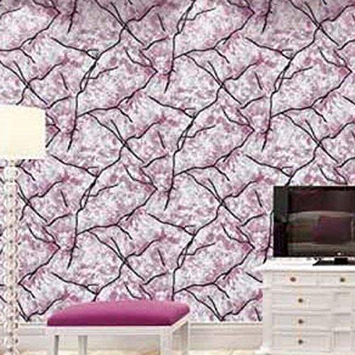 3D Tapete modernen minimalistischen dreidimensionalen Streifen Deerskin Vliestapete Wand Hintergrund Kaufen Sie drei Get One Free ( Color : Pink )