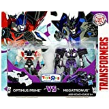 Transformers Robots in Disguise Clash of the Transformers Optimus Prime vs Megatronus Legion Action Figure 2-Pack