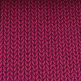 Hamburger Liebe Hipster Square Knit Knit Jacquard-Jersey Bio-Stoff Baumwolle kba GOTs (Ciclamino)
